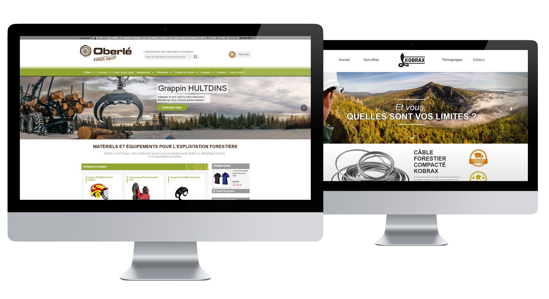 Oberle site e-commerce