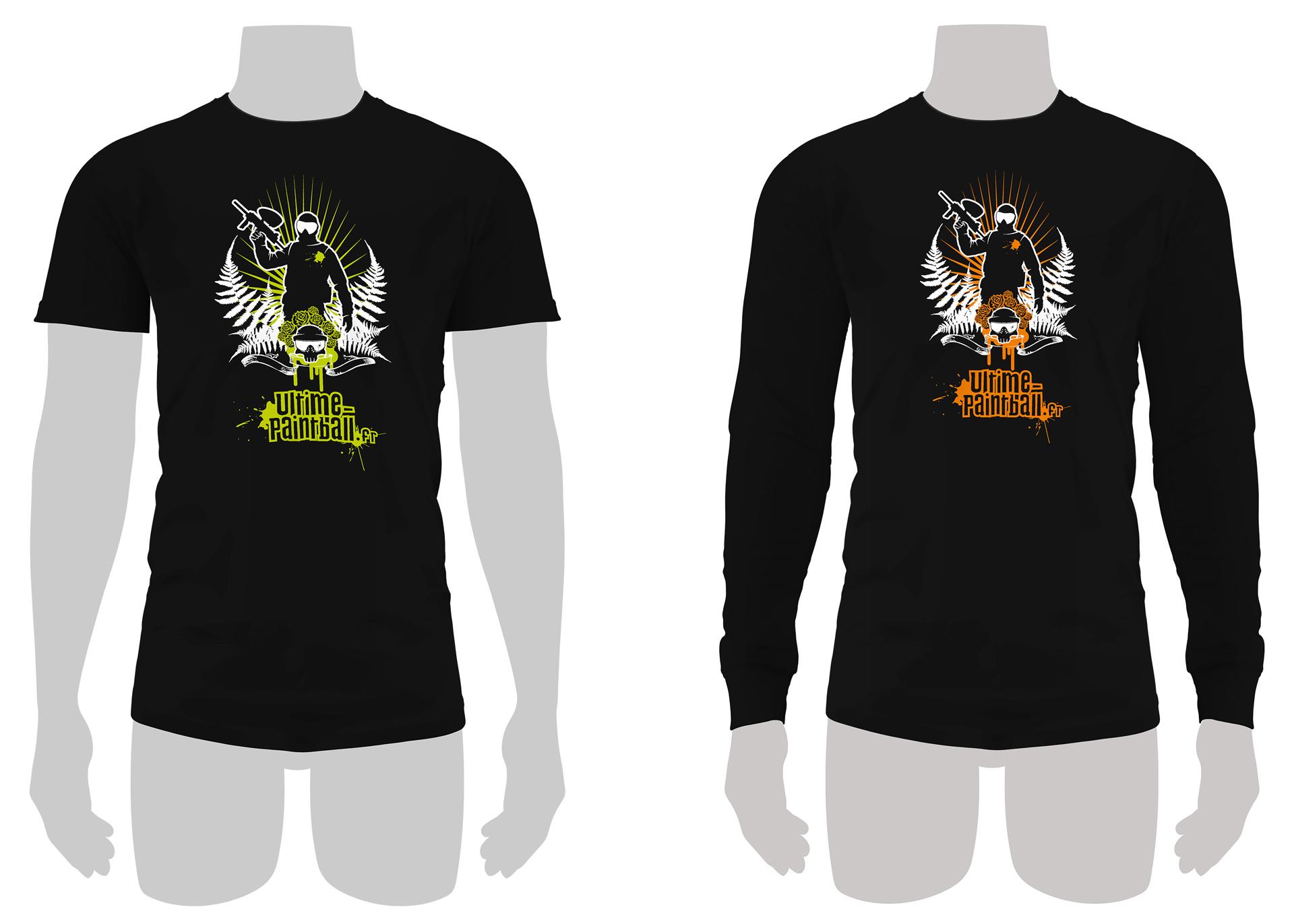 T-shirts et pulls sérigraphiés