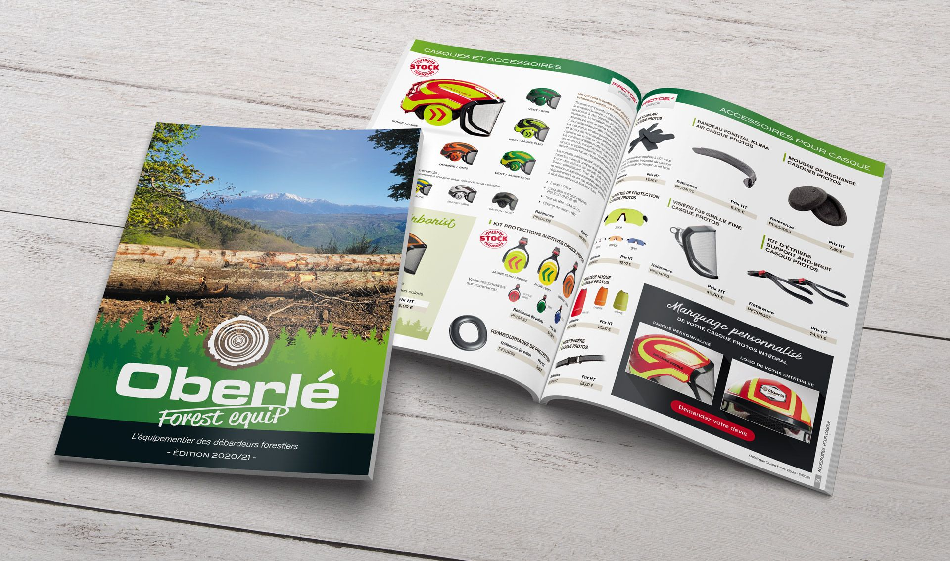 Oberle Forest Equip catalogue 2020