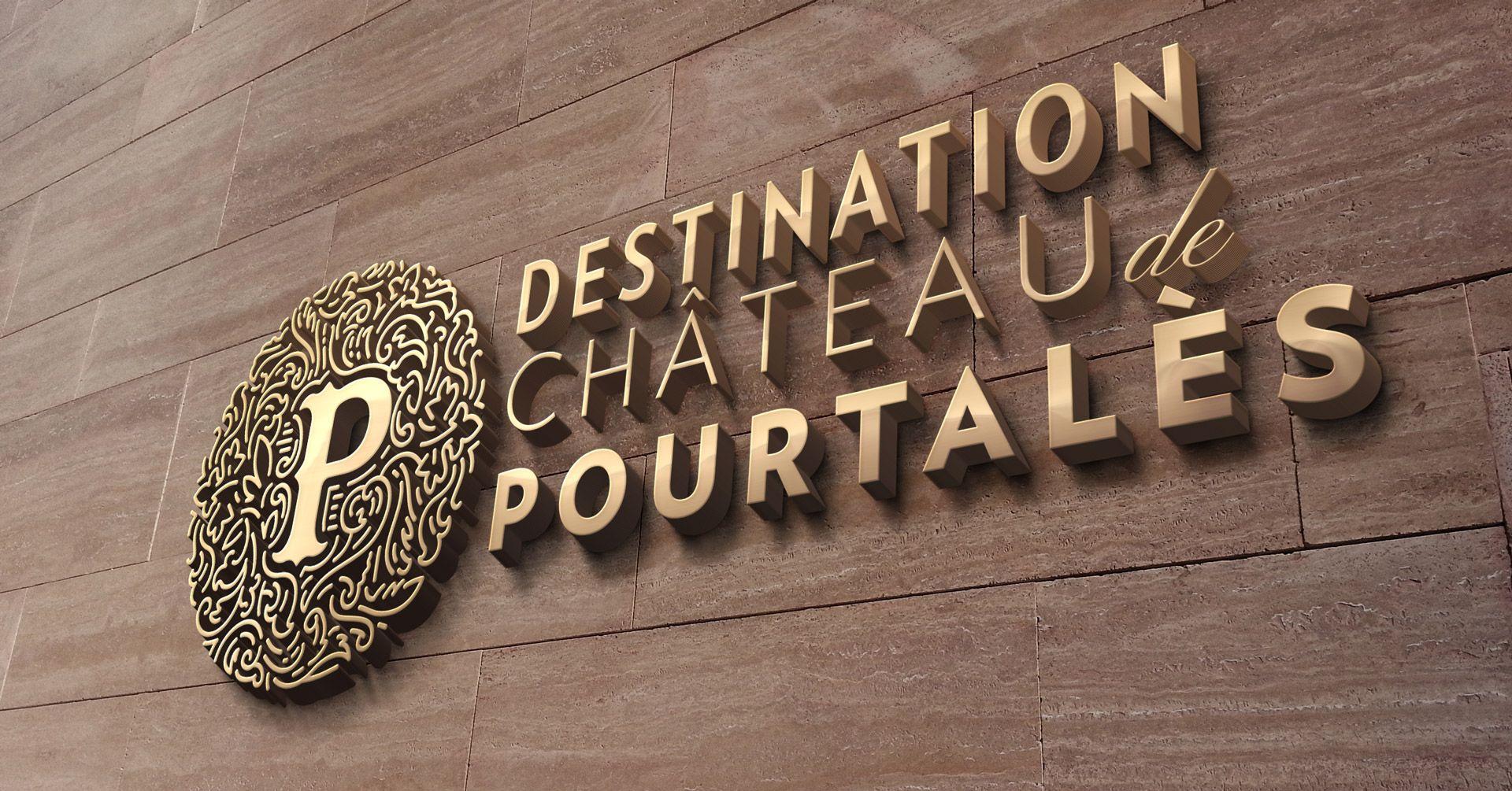 Destination Château de Pourtalès - wall simulation