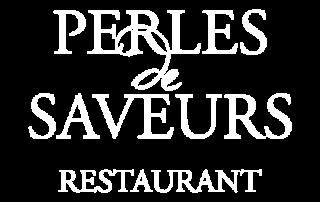 Restaurant Perles de Saveurs Logo white