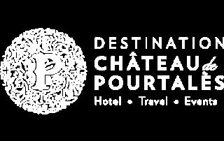 Destination Château de Pourtalès logo white